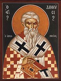 T DIONYSIUS the Areopagite